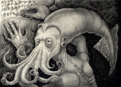 Squidhead by Rode-Egel