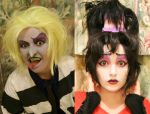Beetlejuice: The Animated Series Makeup Test by xHee-Heex