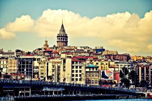 Galata Tower 4 by TurgutMert