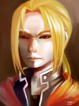 Unimpressed Edward Elric by Resa11