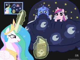 Celestia's Bed Time Stories by treez123