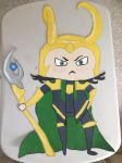 Large Chibi Loki by ManderFFA