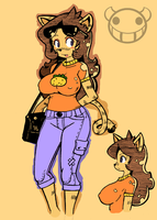 Haydee Kola colored by Chooy64