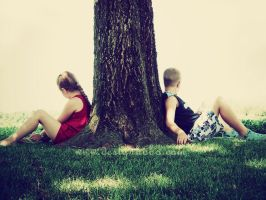 Brother and Sister 2 by beanphotogi