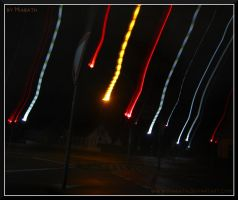 Traffic lights - part two - fire from the sky? by Miarath