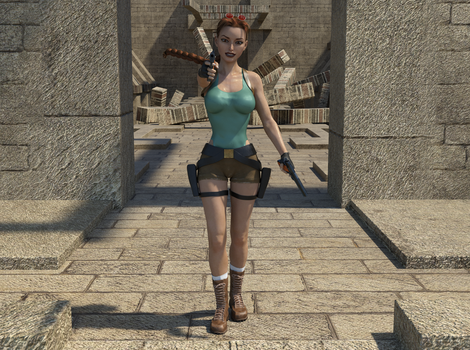 Classic Raider 4 by tombraider4ever
