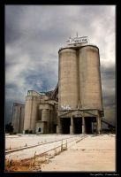 Abandoned Cement Works by PiercedVelvet