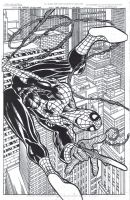 Spidey 201 Inked by ericalannelson
