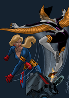Olympia vs Harpy by Joe-Singleton