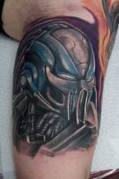 cyber sub zero tattoo by graynd