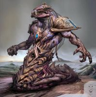 Hybrid  (Protoss and Zerg ) by Daviddleonluis