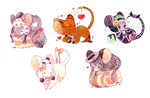 [R] Mice Parade by MiiaChuu