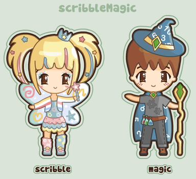 scribbleMagic ID by scribbleMagic