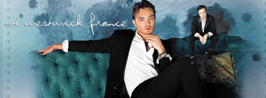 Ed Westwick France by N0xentra