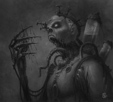 Mecanical-Zombie by KN-art