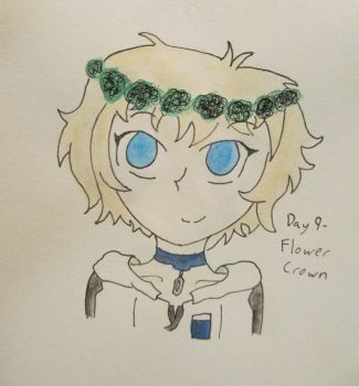 Day 9 - Flower Crown by SStwins