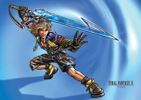 Final Fantasy X - Tidus by KejaBlank