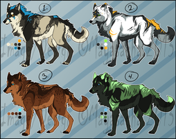 .:CLOSED-4 Canines Auctions:. by Mayasacha