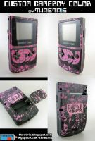 Black and Pink LSDJ gameboy by Thretris