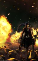 Kanda: Nothing lives forever by Arya-Aiedail