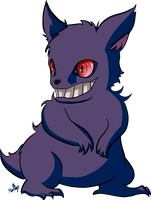 POKEDDEX DAY 4: Gengar by NoaQep