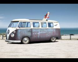 VW Kombi Hood Ride by Hiakesoba