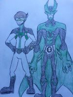 Omniverse: The 10 and Vampire-Man by Zigwolf