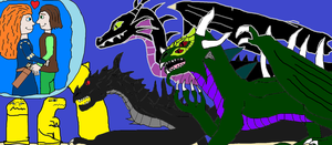 Mericcup: Evil Dragons by PeteDRaptor