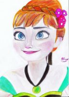 Anna-Frozen by marybloom