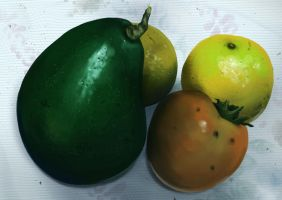Fruits (frutas) by placitte2012