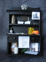 Supernatural Bookcase by SpellsNSpooks