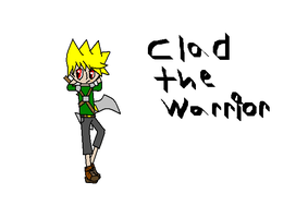 Clad the warrior by Dell-AD-productions