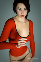 Mia - Redshirt by luxrenderman