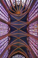 Sainte Chapelle - Paris I by ThomasHabets
