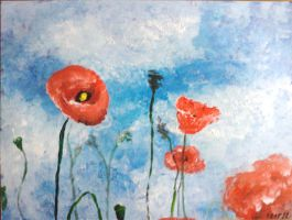 Poppies II by kenwb74