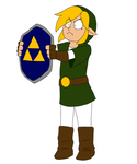 (Gif!)Link.. Wat are you doing..? Stahp by bunslake