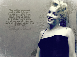 Monroe Wallpaper by ohkaylaa