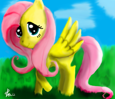 Fluttershy by Bronyontheway