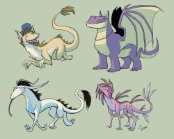 Dagrons by youlootamax