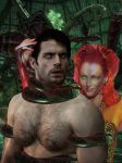 Superman seduced by Poison Ivy by mchlsctt709