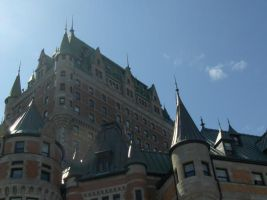 Chateau Frontenac by 8-MeLoNdO-8