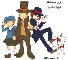 layton + phantom R by Patori-san