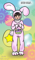 Japanese Easter Bunny?! by Cherimoya-chan