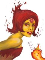 Flame Princess by Marduk44