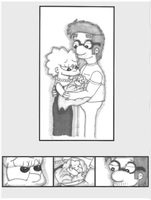 Lisa and Milhouse: New Baby by Artrookie--yup
