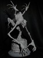 The Thing in the Well WIP by Blairsculpture