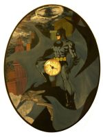 Batman CLock by saaio
