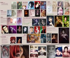 2000-2006 artistic timeline by acidlullaby