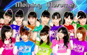 Wallpaper Morning Musume All colours ver by RainboWxMikA