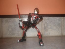 Bionicle - Kamen Rider Faiz by andrell
